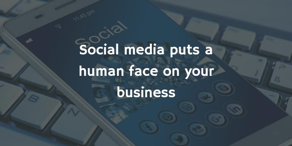 social media human face