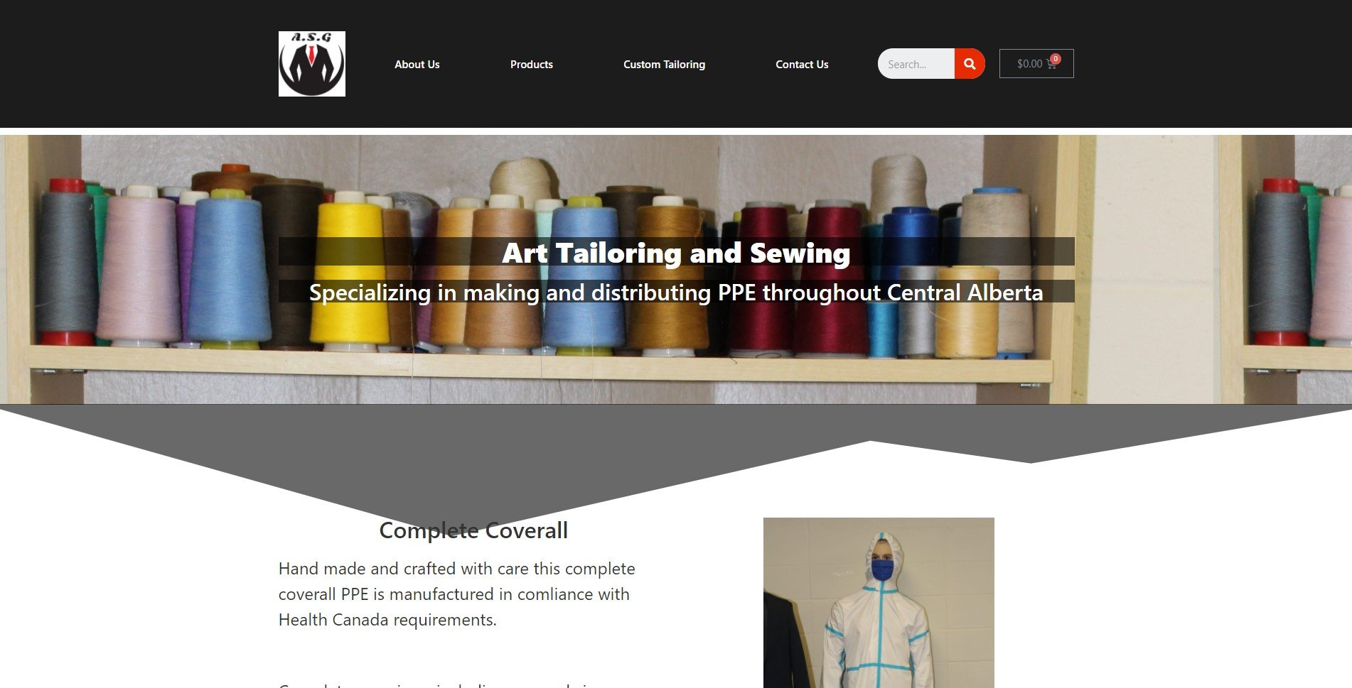 Art Sewing Home Page
