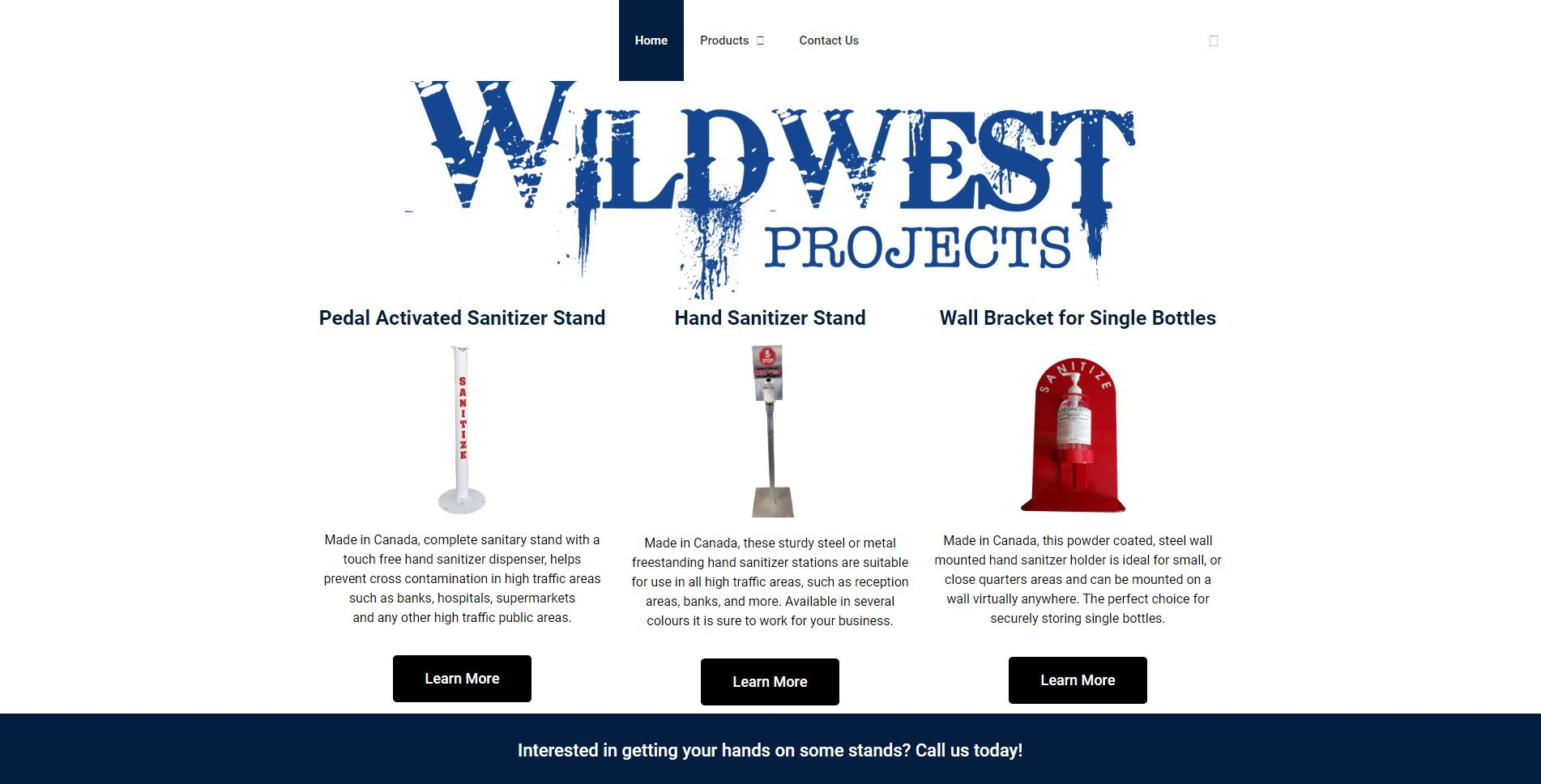 Wild West Project home page