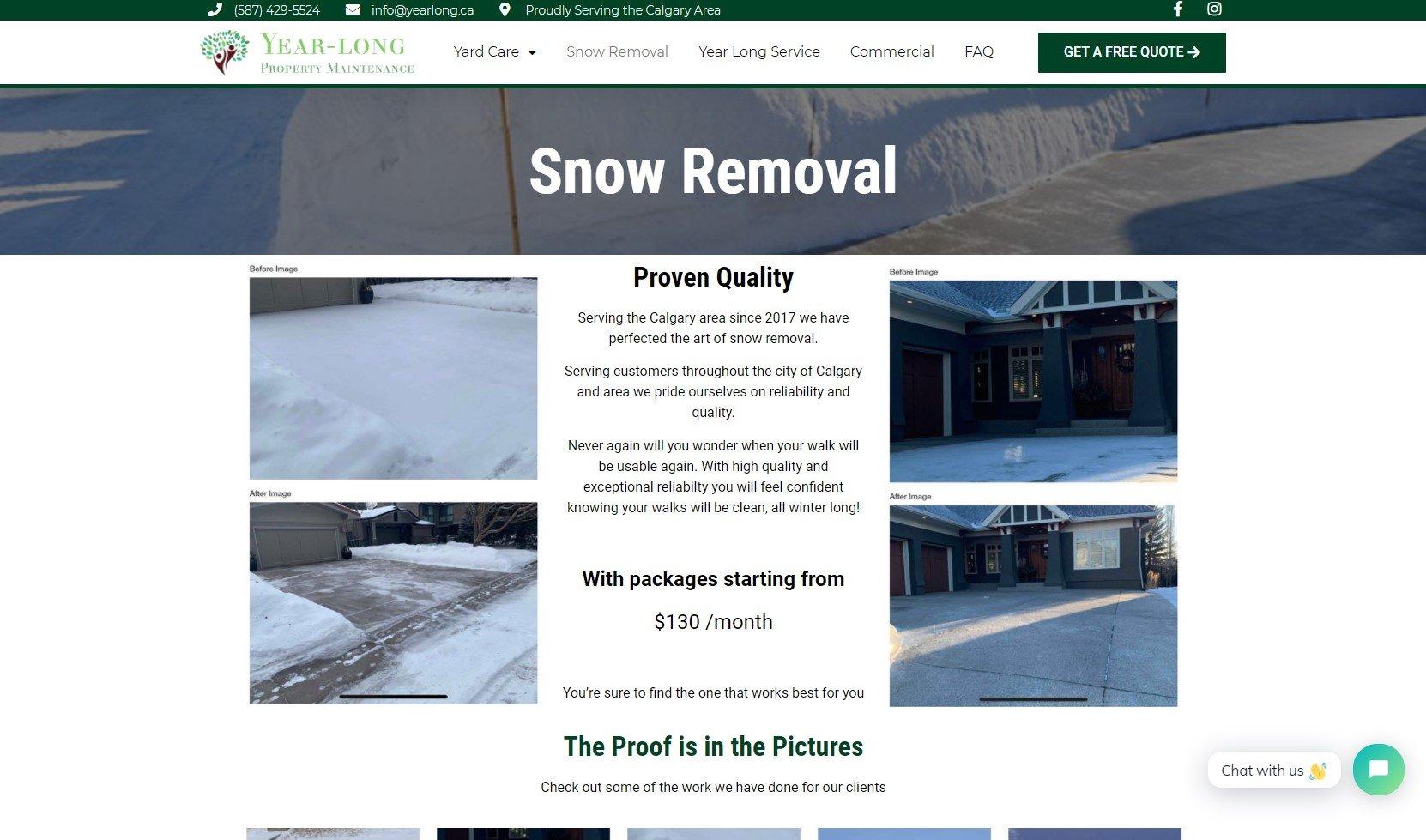 Yearlong Snow Removal Screenshot