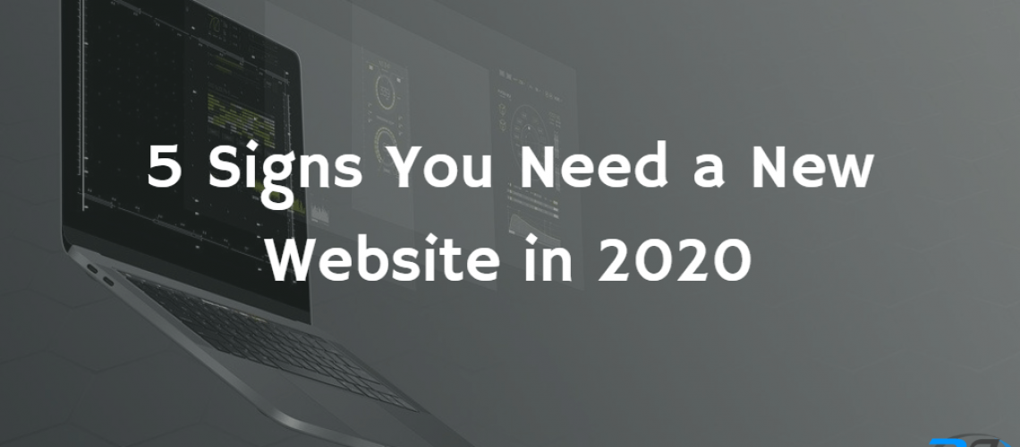 5 signs you need a new website