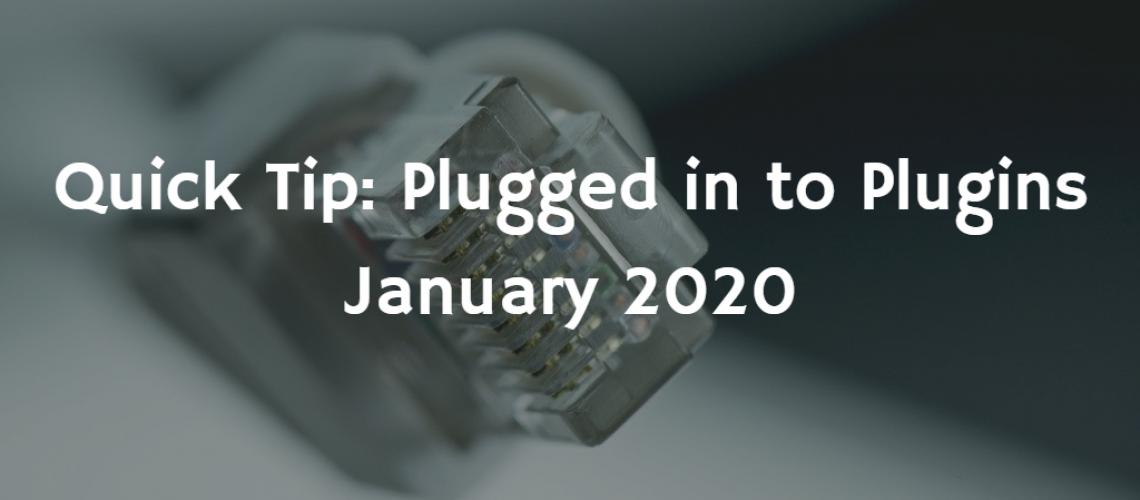 quick tip - plugged into plugins - featured